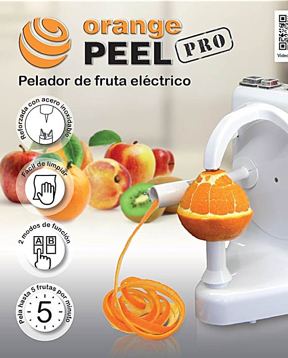 Pelador Frutas electrico - Orange Peel Pro